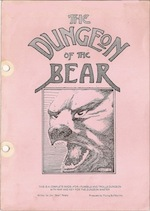 Dungeon of the Bear Lvl 1